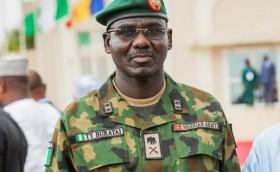 Nigeria's Chief of Army Staff, Lieutenant General Tukur Yusuf Buratai