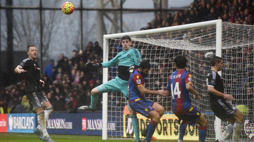 Crystal Palace VS Chelsea FC, premier league match on 3rd January 2016