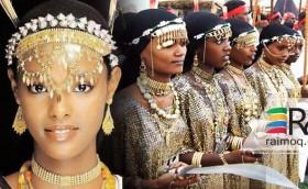 A traditional Eritrean Afar wedding