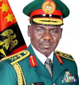Nigeria's Chief of Army Staff, Lt. General TY Buratai