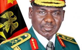 Nigeria's Chief of Army Staff, Lt. General TY Buratai