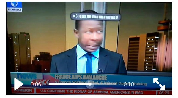 Channels TV Anchor