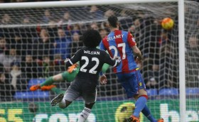 ChelseaFC William's goal against Crsystal Palace in the premier league