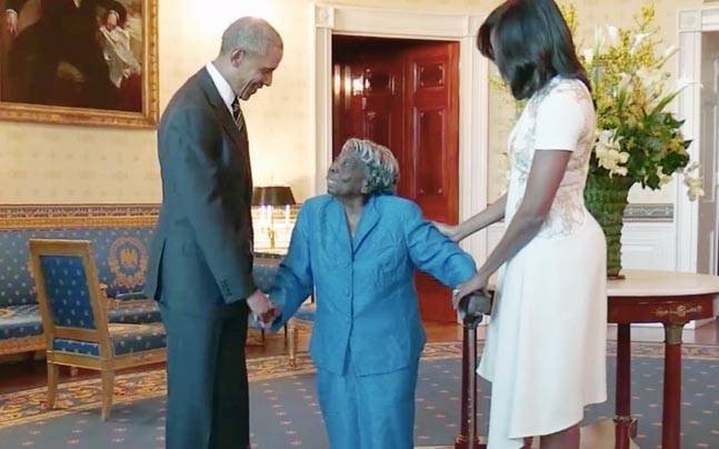 106 years old White House dance with President Barack Obama