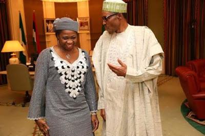 Abike Dabiri-Erewa and President Buhari