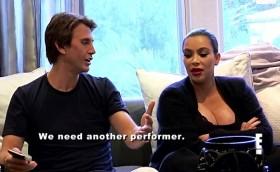 Kim Kardashian on KUWTK episode