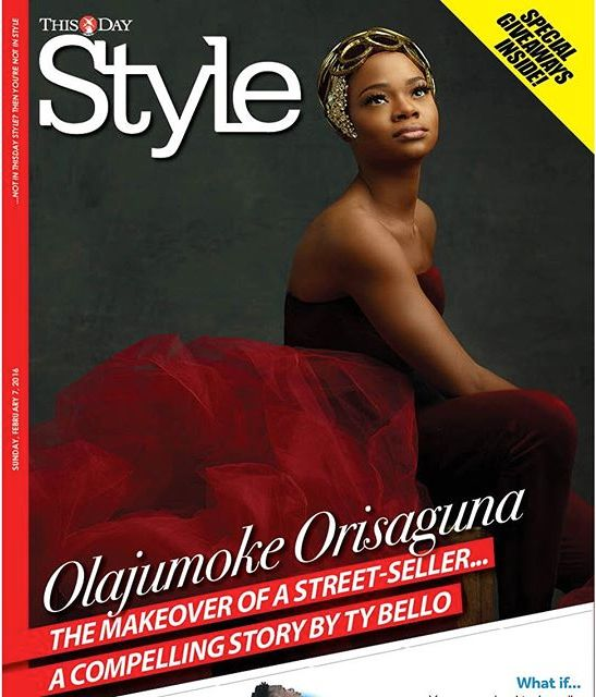 Olajumoke Orisaguna - Thisday Style Magazine Cover