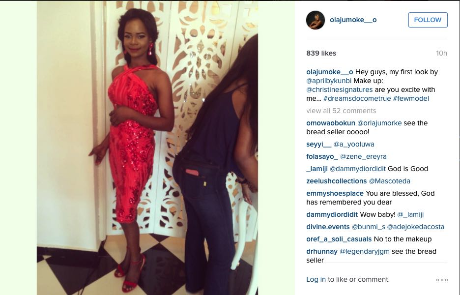 Olajumoke Orisaguna, the Agege bread seller turned model