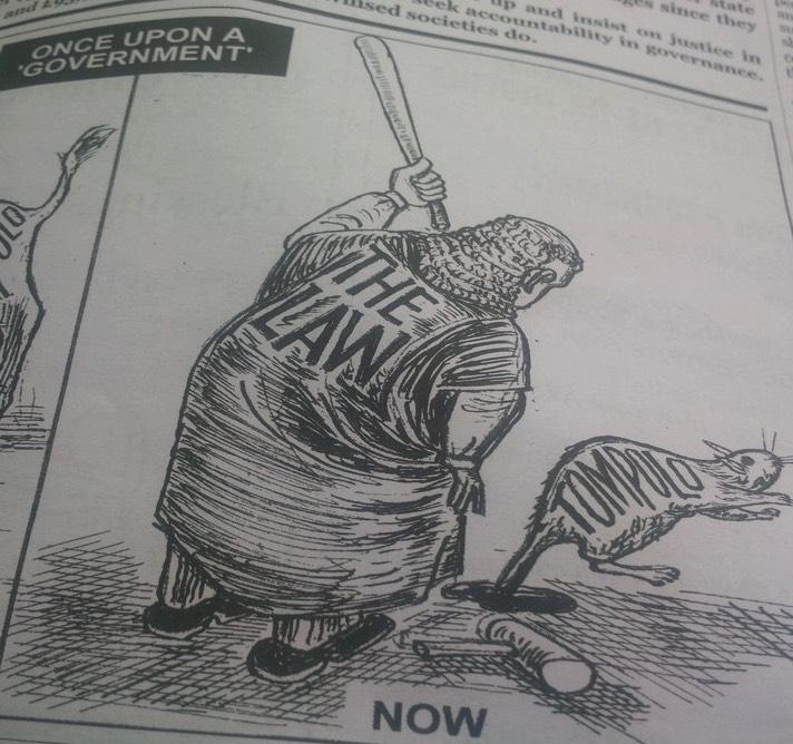 Tompolo Punch Cartoon