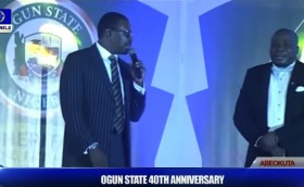 Ali Baba and Gbenga Adeyinka cracks jokes at Ogun at 40 event