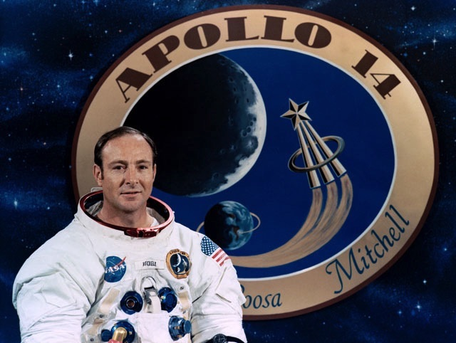 Edgar Mitchel, Apollo14 member