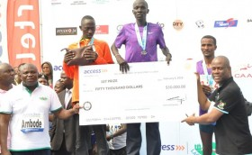 Lagos City Marathon Winner