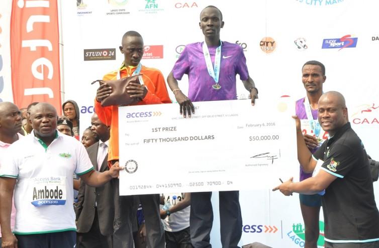 Lagos City Marathon Winner