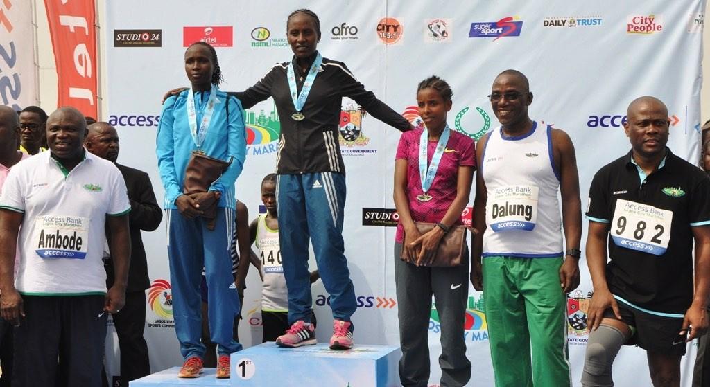 Lagos City Marathon Winners