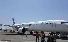 Somali Daallo Airlines plane explosion