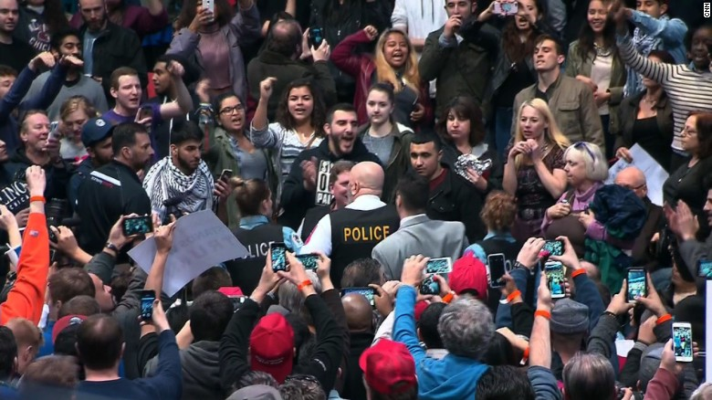 Donald Trump Rally - Chicago protests