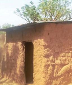 Ese Oruru's house in Tofa village