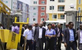 Governor Akinwumi Ambode Visits Lekki Gardens