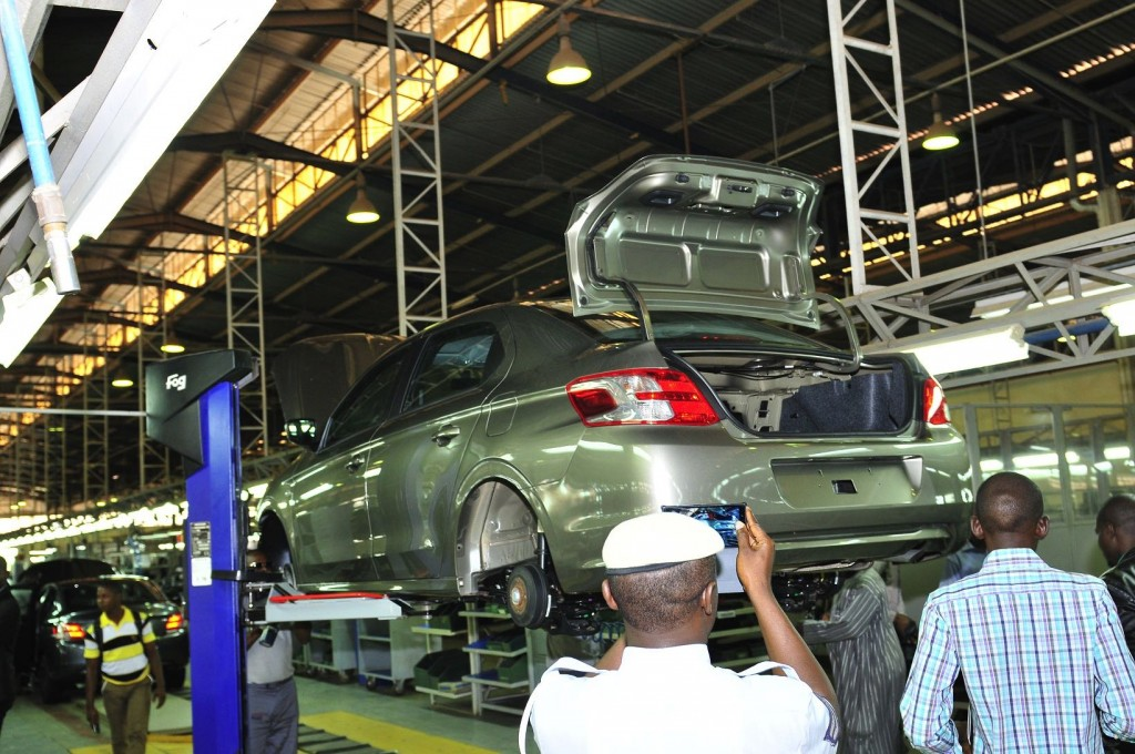 Peugeot Nigeria assembly line