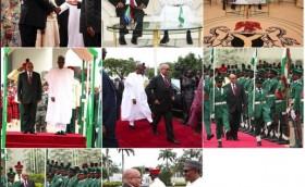 Photo highlights of President Zuma's visit to Nigeria