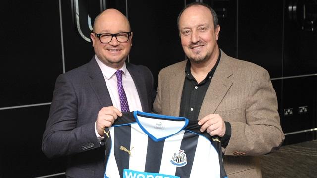 Rafa Benitez - Newcastle United Manager