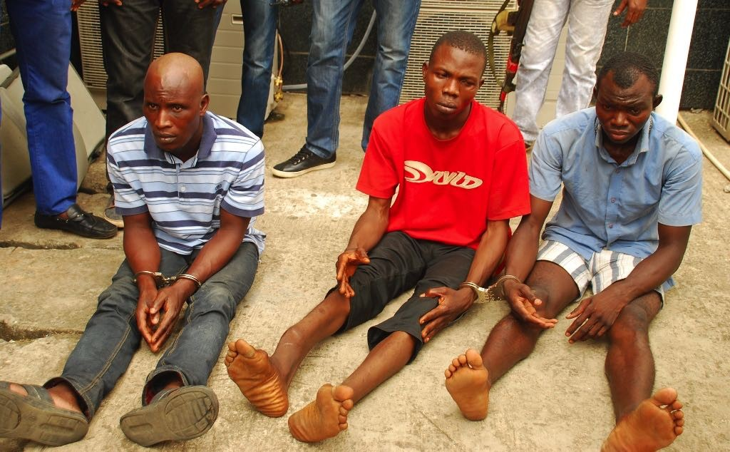 Suspected kidnappers of Babington Macaulay Junior Seminary School Girls