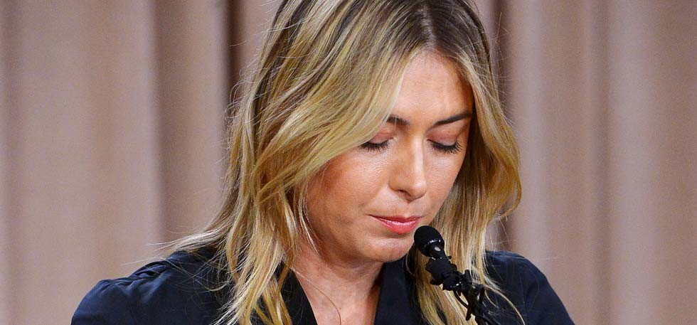 Maria Sharapova pens emotional post on Facebook after doping shock