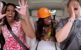 Michelle Obama, Missy Elliott and Corden Carpool Karaoke